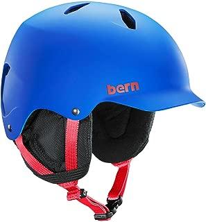 BERN Junior Bandito Ski Snow Helmet Matte Cobalt Blue SB03EMCOB Medium Large