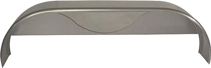 1-Pack 72x10-3//4 Tandem Axle Steel Trailer Fender w//Back Plate Welded in