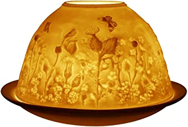 Welink Light-Glow Tealight Candle Holder, Scottish Thistle