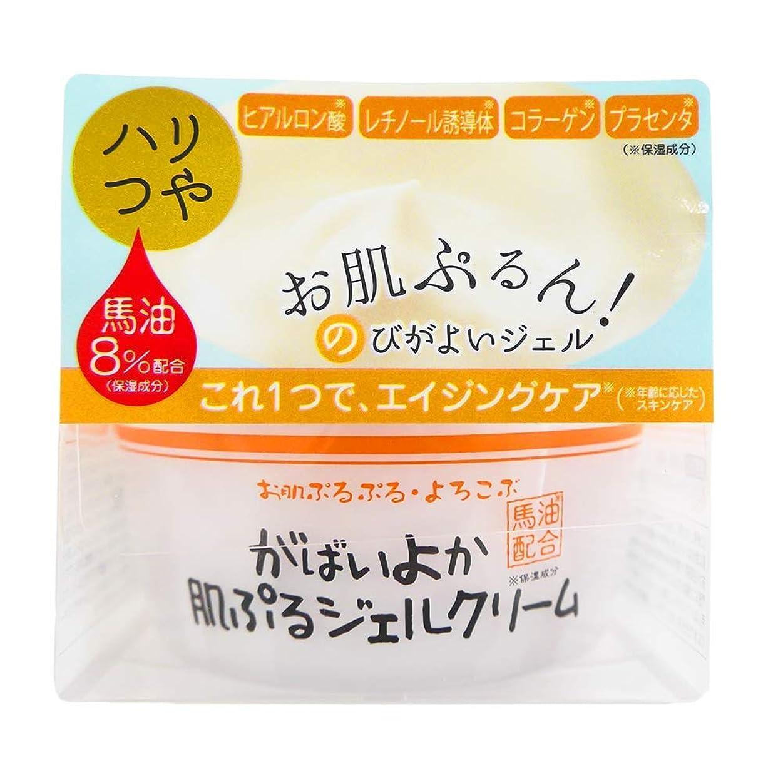 アイドル代替テンポがばいよか肌ぷるジェルクリーム 100g