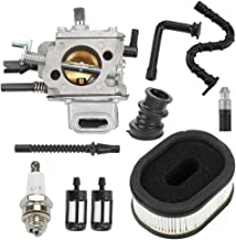 Hayskill MS640 MS660 Carburetor w Air Fuel Filter for Stihl MS650 MS 660 064 066 Chainsaw Carb Replace 1122 120 0621 1122 120 0623