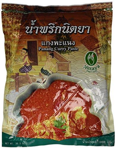 Nittaya Currypaste, Panang, 1er Pack (1 x 1 kg Beutel)