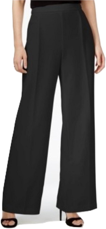 Bar III WideLeg Suit Pants, Black, Size 4