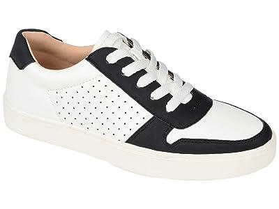 Journee Collection Comfort Foamtm Elle Sneaker (Black) Women