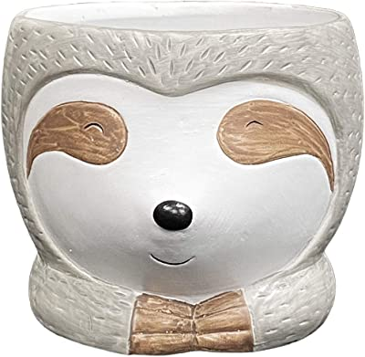 Classic Home and Garden 260031 Cam The Sloth Planter