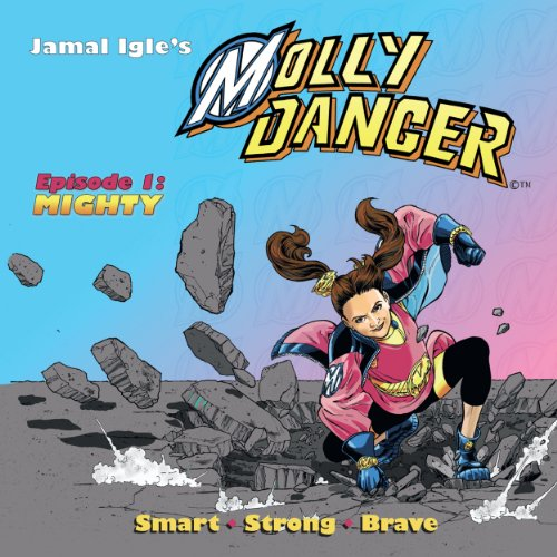 Molly Danger audiobook cover art