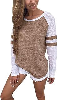 : t shirt baseball Femme : Vêtements