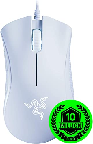 Razer DeathAdder Essential Gaming Mouse: 6400 DPI Optical Sensor - 5 Programmable Buttons - Mechanical Switches - Rub...