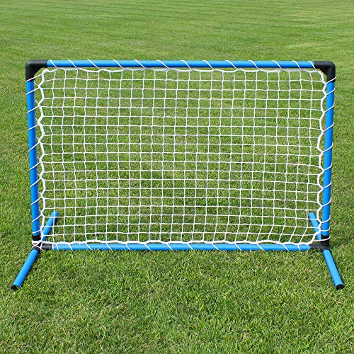 Superhund24 Hoopers Gate oder Zaun, blau, mit weißem Netz