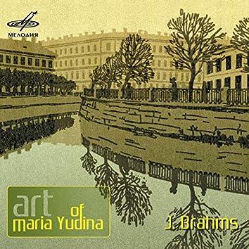 Art of Maria Yudina. Brahms