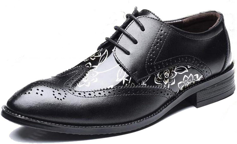 AKJC Business skor män svarta Oxford skor Män's Män's Män's Dress skor Mikrofiber Läder Affärsskor Män med formella skor  tidlös klassiker