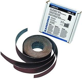 Delta, 31-486, 3 Pc. Aluminum Oxide Sanding Strips - Grit Assortment for 25 in. Dual Drum Sander (1 each 80G, 120G, 150G)