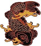 Los pescados de diseño de tatuaje de peces parche de HotFix de conexión de aplicación