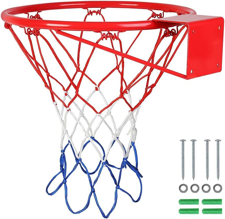 Jlong Raleigh Mall Basketball Direct store Rim Standard Hoop Replacement