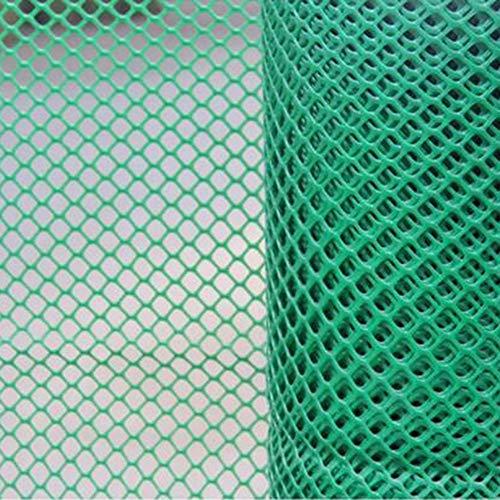 OUPAI Solaire Filet D'ombrage Le maillage en plastique de poulet maillage en plastique de volaille a extrudé la fabrication en plastique enduite en plastique de grillage de poulet avec oeillets