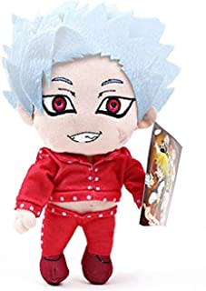 Mattheo klug The Seven Deadly Sins 8''Plush Toy ,Ban Plush Doll,Fox's Sin of Greed Hugged Pillow Birthday Gifts