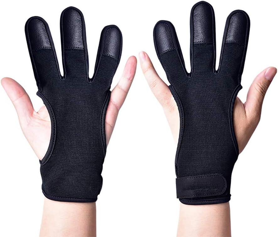 WJINNG Archery Glove Finger Tab Accessories Regular dealer Gloves Super special price - Leather for