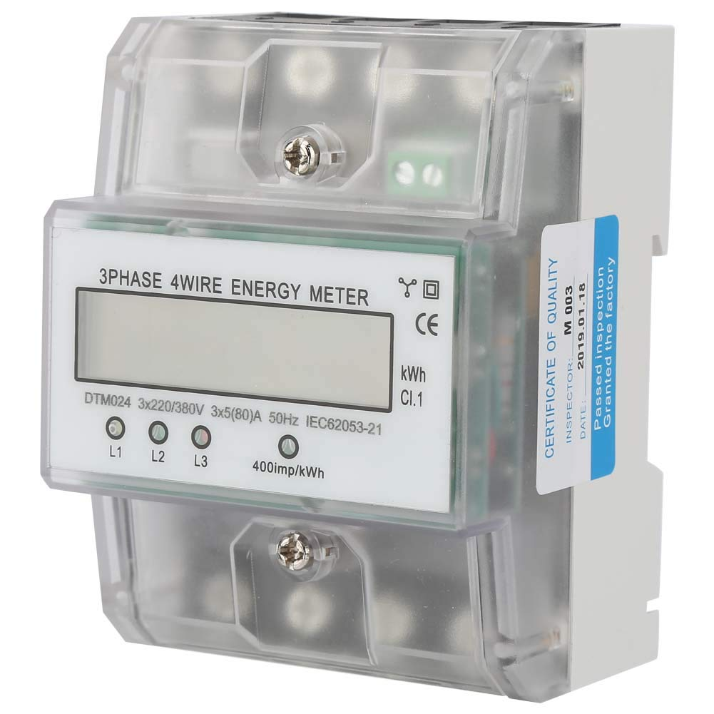 Energy Price reduction Meter KWh 5-80A for Metering Max 81% OFF Home Systems