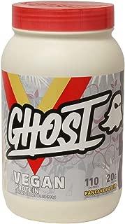 Ghost 100% Vegan Plant Based Protein Powder 2lb Tub (Pancake Batter, 2lb)
