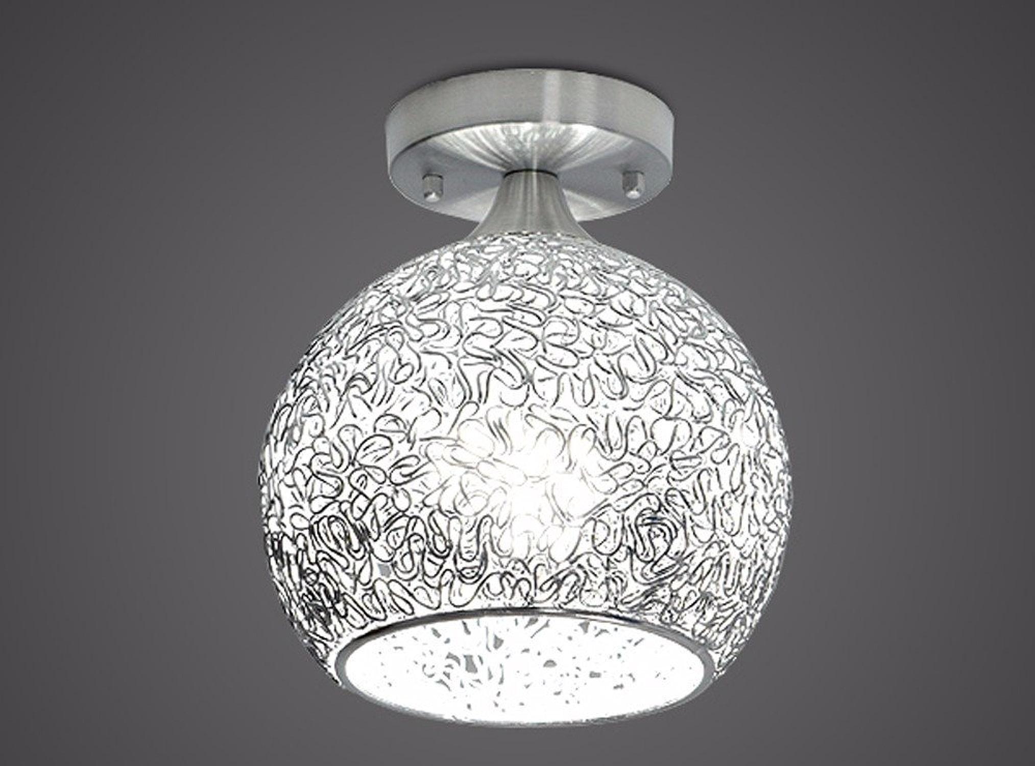 Lampe de plafond de tête simple de LED, B4 grande lumière blanche de 5W
