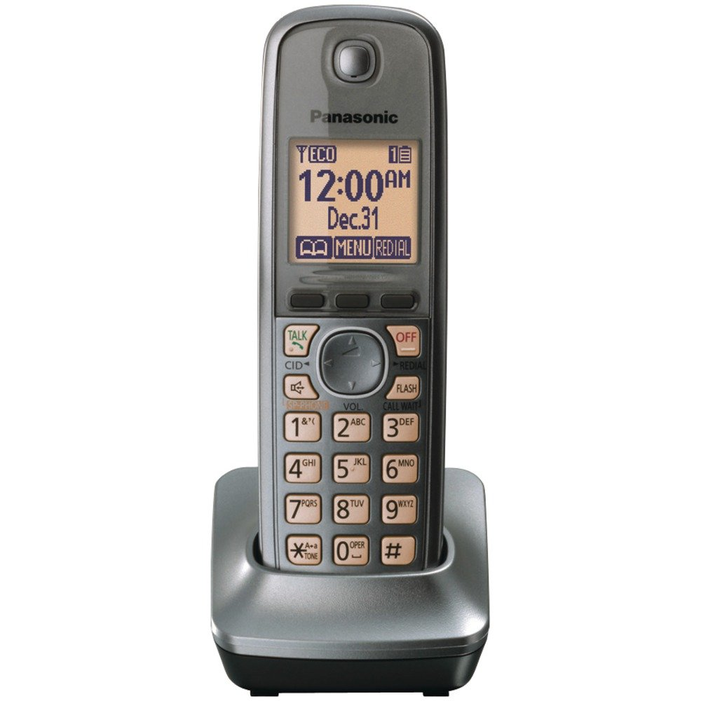 Panasonic KX-TGA410 M Teléfono inalámbrico: Amazon.es: Electrónica