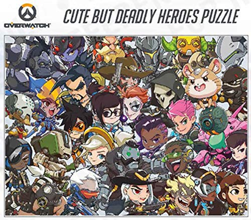 Overwatch Cute But Deadly Heroes Puzzle
