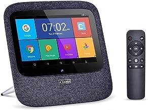 Clazio Internet Radio Home Smart Speaker Voice Control Touchable Wireless Speaker Compatible with Alexa.Black
