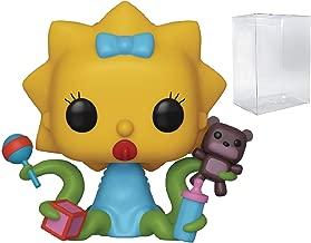 Pop! Animation: Simpsons Treehouse of Horror - Alien Maggie Pop! Vinyl Figure (Includes Compatible Pop Box Protector Case)