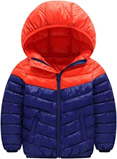SITENG Winter Coats for Kids with Hood Light Down Jacket for Baby Boys Girls Coat