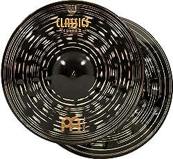 small Meinl 15 ″ Hi-hat Cymbal (Hi-hat) Pair – Classic Custom Dark – Made in Germany, 2 Year Warranty…