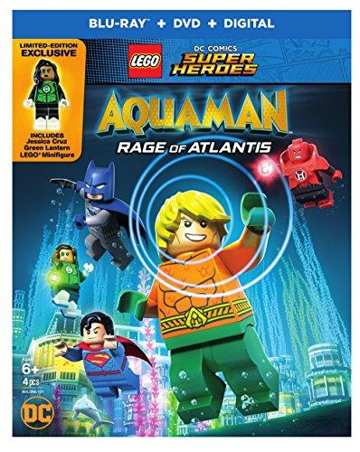 LEGO DC Super Heroes: Aquaman: Rage of Atlantis (BD) [Blu-ray]