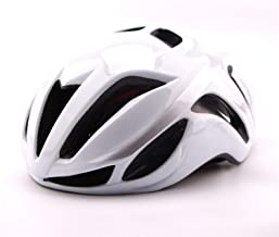 whhuwai Cycling Helmet EPS+PC Cover Road Ultralight Bike Helmet Integrally-Molded Bicycle Safety Cap 56-62CM