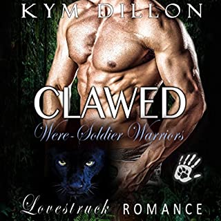 Clawed audiobook cover art