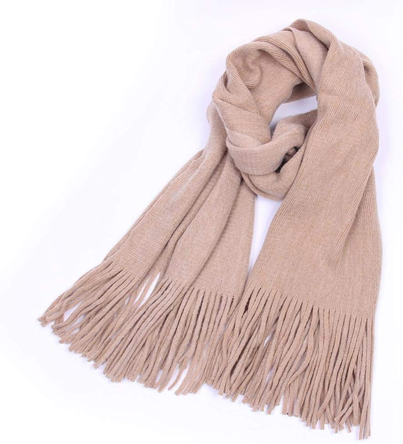 Gquan Fashion Scarf, Student Knit Jumper Long Scarf Women's Winter Thickened Warm Single