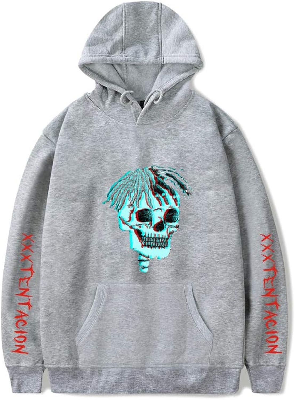 Imzoeyff Mode Unisex Hoodies Mit Schdel Grafik Gedruckt Mit Kapuze Sweatshirt Für Hip Hop Rapper Snger Streetwear Xxxtentacion