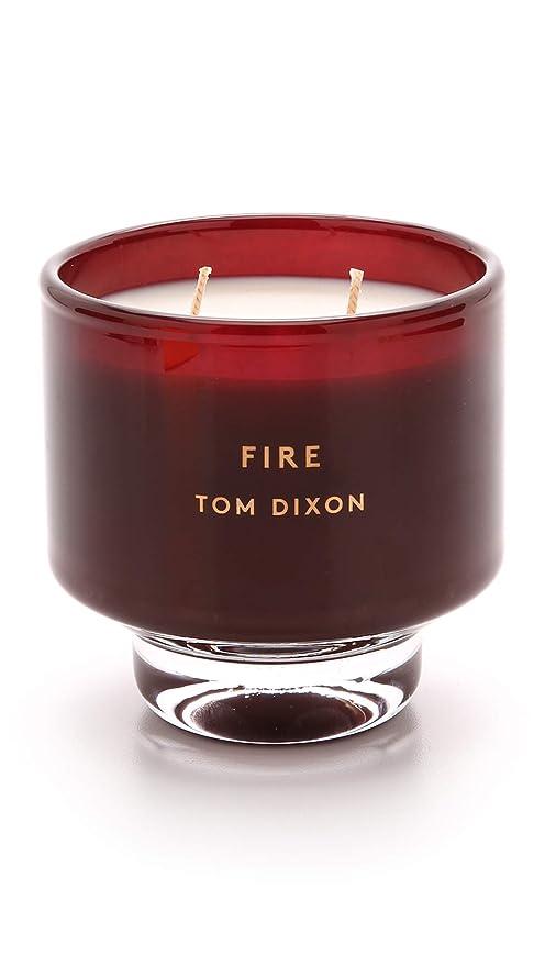 今陽気な理論Tom DixonメンズFire Scented Candle