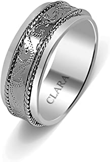 b06f7ab908 Clara The Enrique Sterling Silver Ring for Men