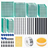 Juego de 71 placas perforadas, 23 placas PCB de doble cara, placa perforada, 16 unidades m...