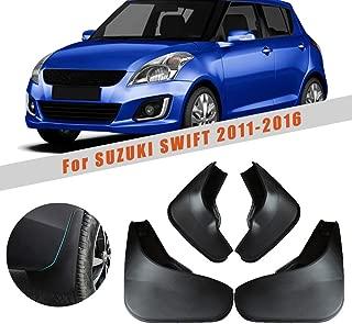 for Suzuki Swift 2011-2016 Car Wheel Splash Guards Mud Flaps Premium Heavy Duty Mud Guards Rally Armor Fender