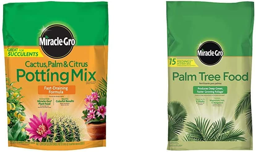 Department store Miracle-Gro Cactus Palm Citrus Potting Tree SALENEW very popular! Food and Mix