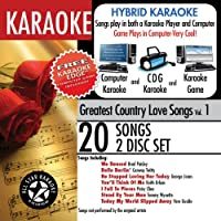 Karaoke: Greatest Country Love Songs With