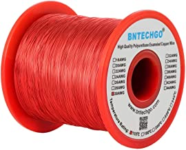 BNTECHGO 30 AWG Magnet Wire - Enameled Copper Wire - Enameled Magnet Winding Wire - 1.0 lb - 0.0098