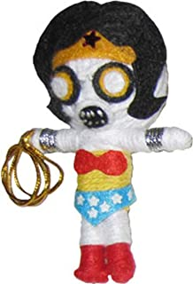 Original Wonder Woman DC Comics Zombie String Doll Keychain