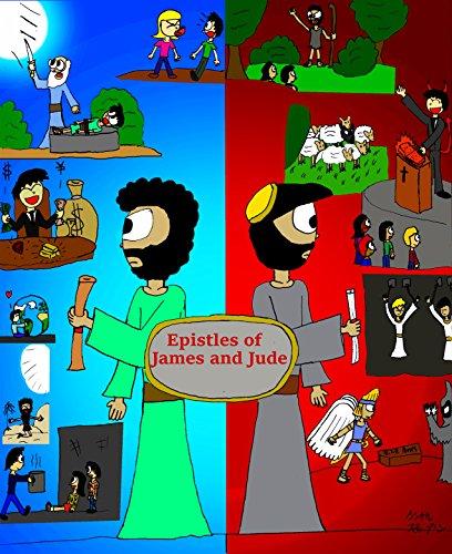 Epistles of James and Jude (General Epistles Manga Book 1) (English Edition)