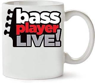 PC Hardware Store Bass Player Taza para Café Y Té