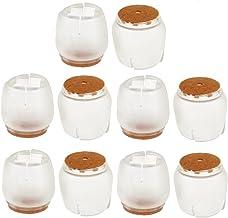 Generic 10 stuks stoelbeenkappen voetkussens meubels tafelkleden vloerbescherming silicone ronde vierkante poten - kleur ...