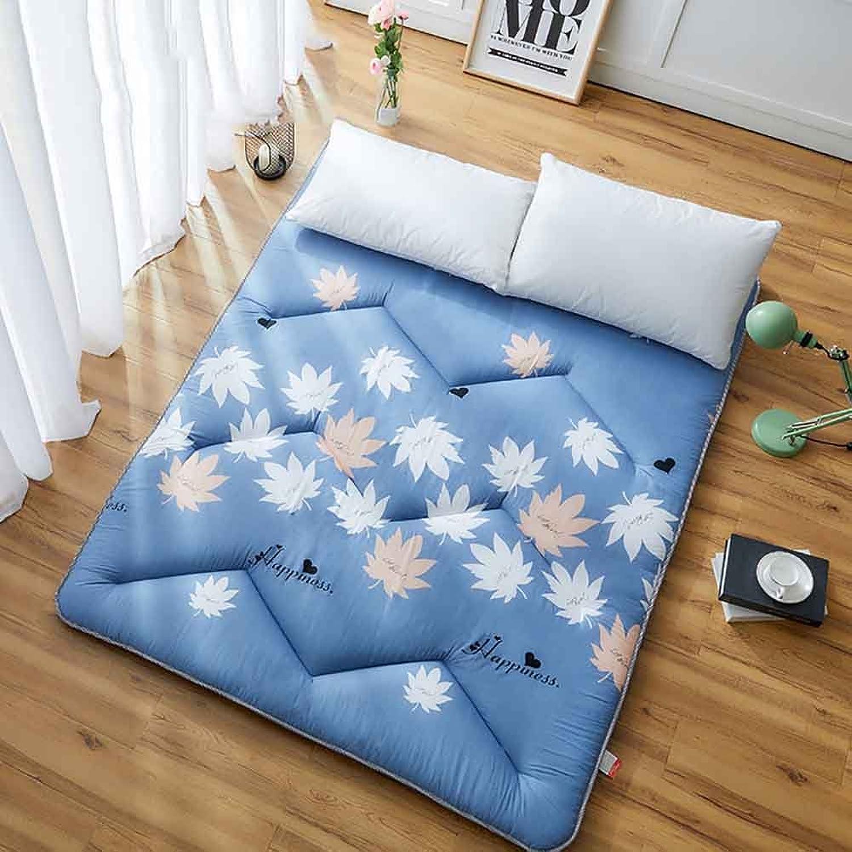 Futon Mattress,Tatami Floor mat Folding Mattress Student Dormitory Scorpion Thick Mattress-D 120x200cm(47x79inch)
