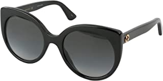 نظارات شمسية من غوتشي باطار اسود