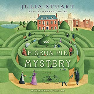 The Pigeon Pie Mystery audiobook cover art