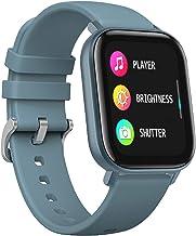 LIGE Smart Watch met hartslagmeter, 1,4 inch touchscreen, fitnesstracker, waterdicht IP67-stappenteller, fitnesshorloge me...